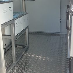 interior view mobile kitchens